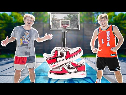 Beat Me 1v1, WIN Custom Shoes