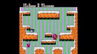 NES Longplay [458] Snow Bros