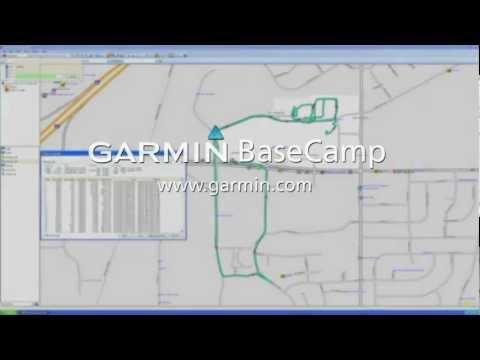 Garmin BaseCamp for PC: Tracks