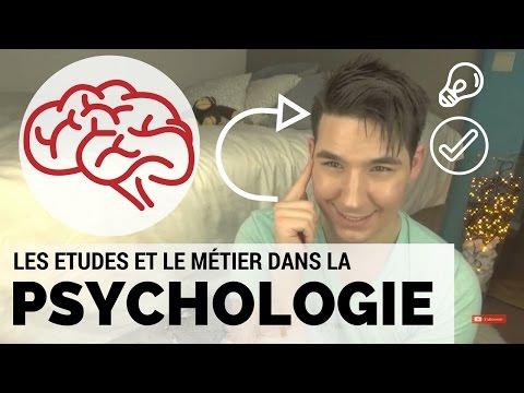 PSYCHOLOGIE | ETUDES, MÉTIER & NOUVEAU CONCEPT DE VIDÉO !