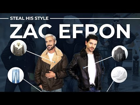 Mens hairstyles - Steal His Style  Zac Efron  Men's Fashion 2019