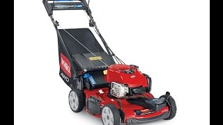 8. Toro AWD All Wheel Drive Residential Self Propelled Mower 20353 Information