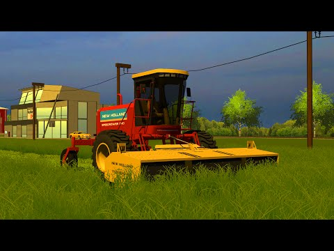 New Holland 240 Speedrower v1.0