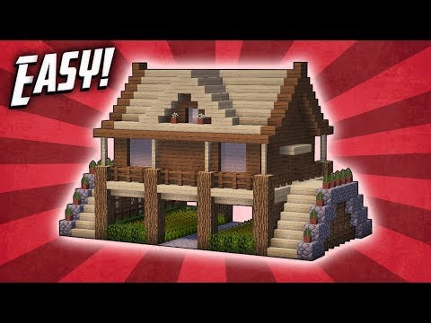 Minecraft: How To Build A Survival Starter House Tutorial (#11)