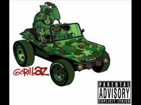 Tekst piosenki Gorillaz - Man research po polsku