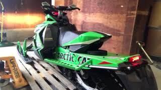 9. 2013 Arctic Cat 800RR Idle December 2018
