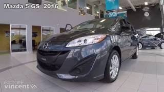 Mazda5 GS 2016 youtube video