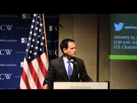 Sen. Rubio Speech on Middle Class Opportunity At U.S. Chamber Of Commerce