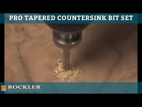 Pro Tapered Countersink Bits