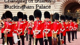 Buckingham United Kingdom  city photo : Changing guard @ Buckingham Palace, London UK 2016