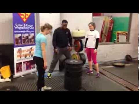 women test strength