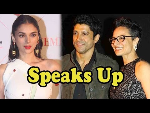 Aditi Rao Hydari Speaks Up On Adhuna-Farhan Akhtar