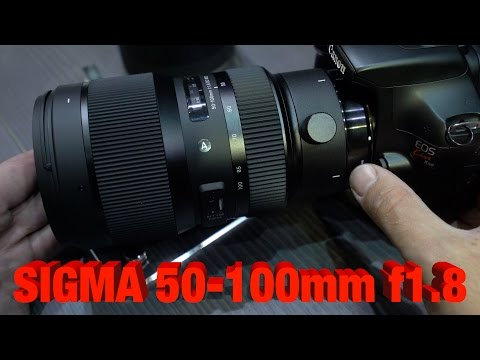 Sigma 50-100mm f1.8 ART - Hands on Overview