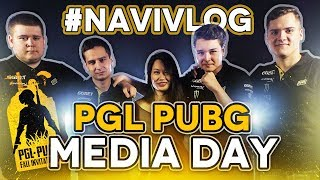 #NAVIVLOG: PGL PUBG Media Day