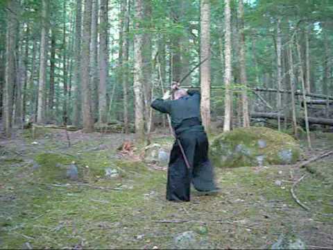80-MOUNTAINOUS SWORD STYLE IN NATURE (видео)