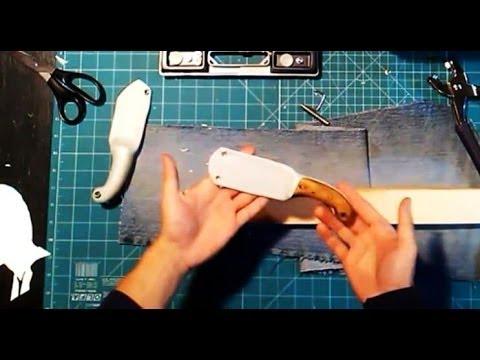 Пластиковый нож своими руками