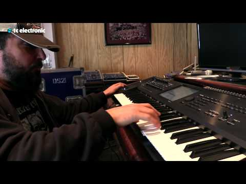 "In this video Derek Sherinian creates and jams over his ""Funky Clav"" loop for the Ditto X2 Looper from TC Electronic.  Ditto X2 Looper product page: http://www.tcelectronic.com/ditto-x2-looper/ StarJam Loops:http://www.tcelectronic.com/starjam-loops/ -Where you can download loops that you can load into the Ditto X2 Looper."