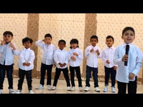 روضة مجمع الفرقان الحفل الختامي 1436هـ 1437هـ أ/تهاني العضيبي HD