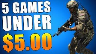 5 BEST PS4 GAMES under $5 - PS PLUS Update (Playstation News) New PSN Sale & Deals