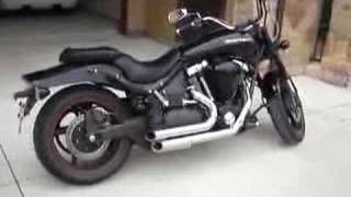 10. 2007 Yamaha Midnight Warrior 1670cc Samson street sweepers