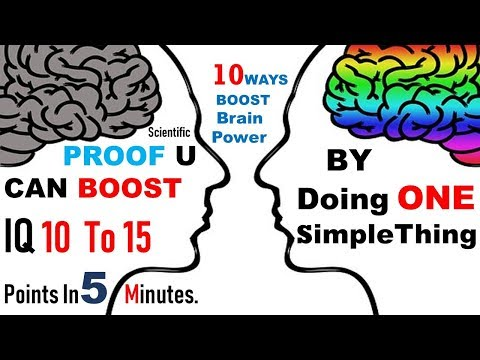 10 Powerful ways to Boost your IQ - Brain Power | Intelligence and concentration | Brain Exercise