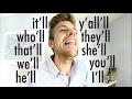 Como pronunciar 'LL em inglês | CONTRAÇÕES #3