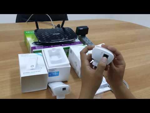 Video hướng dẫn sử dụng Bộ mở rộng sóng WiFi tốc độ 300Mbps TL-WA850RE