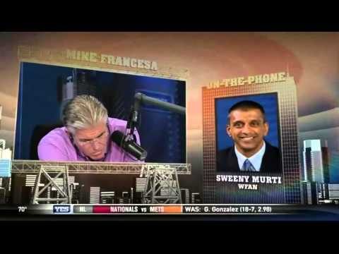 WFAN's Sweeny Murti Puts Mike Francesa to Sleep