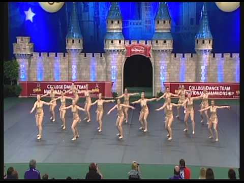 University of St. Thomas Dance Highlights- Nationals Jazz 2013