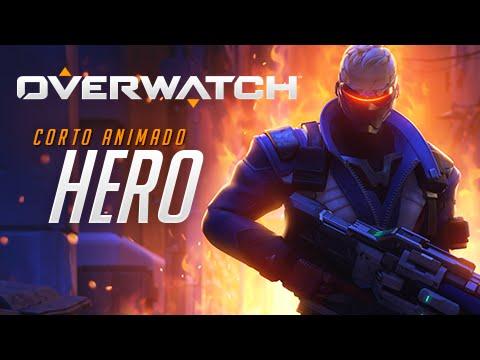 "Corto animado de Overwatch   ""Hero"""