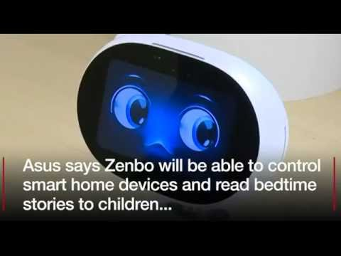 , title : 'Taiwan's Asus unveils 'budget' household robot.'