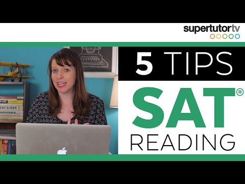 SAT READING: DESTROY THE READING SECTION!  Tips, Tricks, Strategies for the New SAT Reading Section