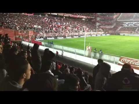 Independiente 1 Lanús 1 hinchada - La Barra del Rojo - Independiente