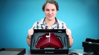 D-Link AC3200 Ultra Wi-Fi Router Unboxing
