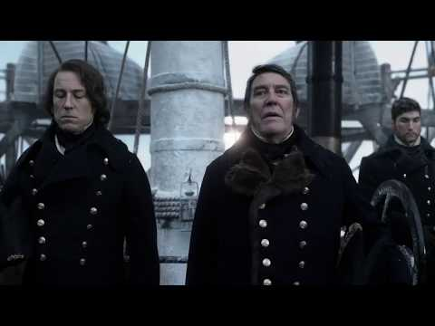 [The Terror - Episode 1] Young's burial, Sir John's speech, and Sailing into the ice