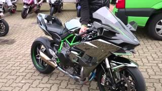 Video Ninja H2 und H2R bei Kawasaki Hamburg MP3, 3GP, MP4, WEBM, AVI, FLV Maret 2019