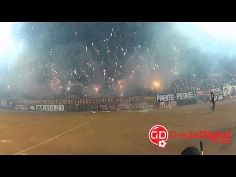 Recibimiento de la afición al Caracas FC por la Libertadores | GradaDigital.com [13/02/2013] - Los Demonios Rojos - Caracas