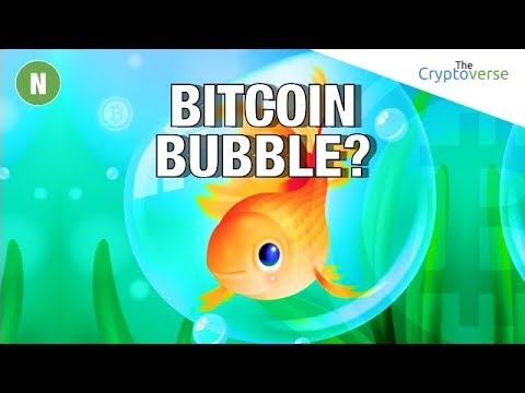 Bitcoin Bubble?  What The Hell Are Bubbles  Anyway? A Cryptocurrency Analysis (Cryptoverse) video
