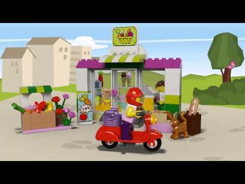 Vidéo LEGO Juniors 10684 : La valise Supermarché