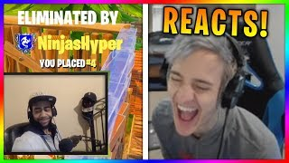 Ninja Reacts to