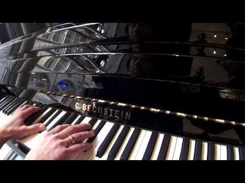 Extrait d'une sonate de Beethoven sur un C. Bechstein Millenium 116K