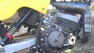 10. Suzuki RM125 N cold start and test ride 1979