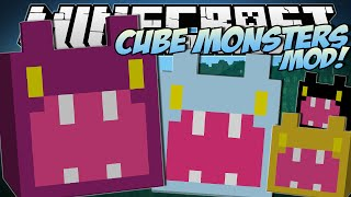 Minecraft   CUBE MONSTERS MOD (Tiny Cubes of EVIL!)   Mod Showcase