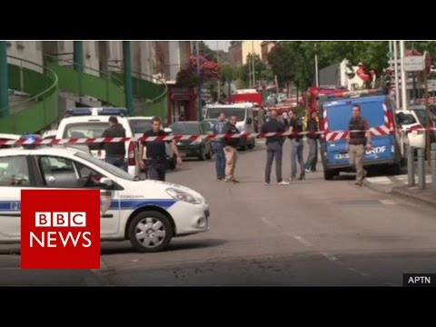 France church attack: Priest killed in hostage-taking near Rouen - BBC News