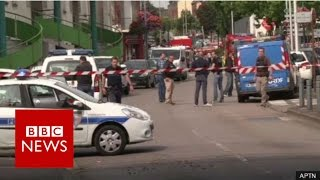 Rouen France  city photo : France church attack: Priest killed in hostage-taking near Rouen - BBC News