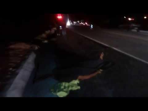 Atropelamento no trevo Dom Viçoso 03-10-2014