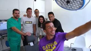 Visita jugadores U.D. Las Palmas a IOC Vecindario