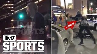 NBA's Jahlil Okafor STREET FIGHT... KO's Man In Boston | TMZ Sports