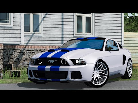 Need For Speed Ford Mustang New Fix 1.38