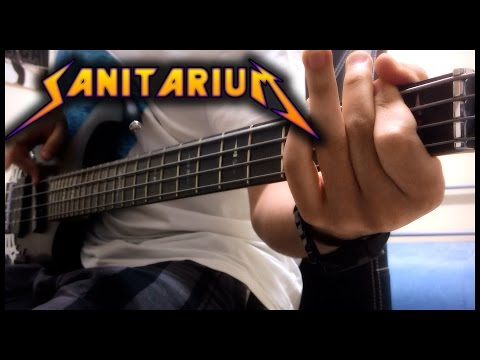 Metallica - Sanitarium (Welcome Home) - Bass Cover - Full HD 1080p